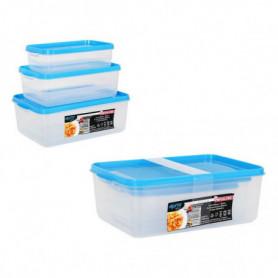 Ensemble de 3 Boîtes à Lunch Privilege Agata Plastique