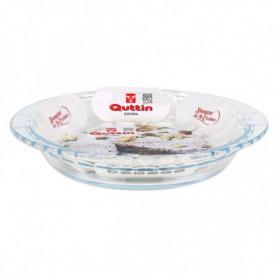 Moule à gâteaux Quttin Verre Rond (ø 22,6 cm)