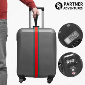 Sangle pour Valises avec Balance et Code de Sécurité Partner Adventure