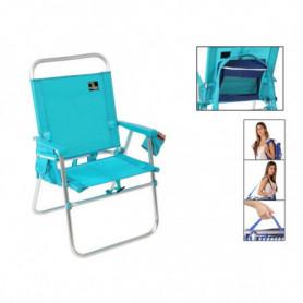 Chaise Pliante Bleu 117489