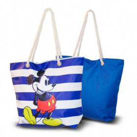 Sac de plage Mickey Mouse Bleu (33,5 x 43 cm)