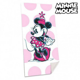 Serviette de plage Minnie Mouse (75 x 150 cm)