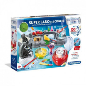 CLEMENTONI Science & Jeu -  Super Labo de Sciences