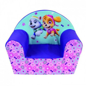 PAT PATROUILLE Fille fauteuil club en mousse pour