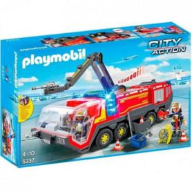 PLAYMOBIL 5337 - City Action - Pompier avec Véhicule