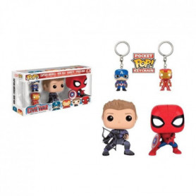 2 Figurines Funko Pop! & 2 Portes clés Pocket Pop!