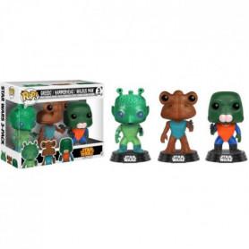 3 Figurines Funko Pop! Star Wars: Greedo, Hammerhead, Walrus Man