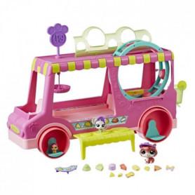 LITTLEST PETSHOP - Food Truck + 3 Figurines
