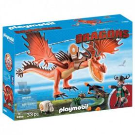PLAYMOBIL - 9459 - Dragons - Rustik et Krochefer