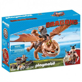 PLAYMOBIL 9460 - Dragons - Varek et Bouledogre
