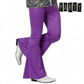 Pantalon pour Adulte Disco Violet