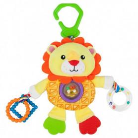 Peluche d'Activités pour Bébé Nenikos Lion +3m 112238