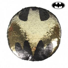 Coussin Sirène Magique à Paillettes Batman 74489 Noir (30 X 30 cm)