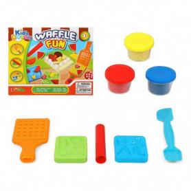 Pâte à modeler en argile Waffle Fun 117493
