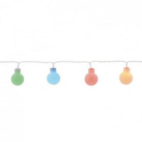 Guirlande micro-LED - 6 m - Rouge, vert et bleu