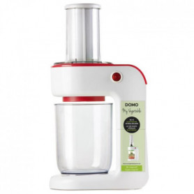 DOMO MY VEGETABLE Hachoir DO9172SP - 400 W - Rouge