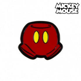 Broche Mickey Mouse Métal Rouge