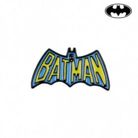 Broche Batman Métal Jaune Bleu