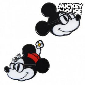Broche Minnie Mouse Noir Blanc