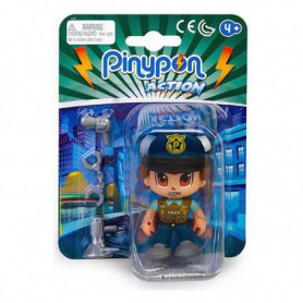 Figurine d'action Pinypon Action Police Famosa