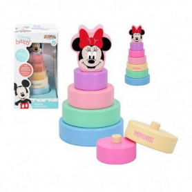 Blocs Empilables Mickey & Minnie 20 cm (1+ an)