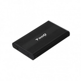 "Boîtier Externe TooQ TQE-2510B HD 2.5"" SATA USB 2.0 Noir"
