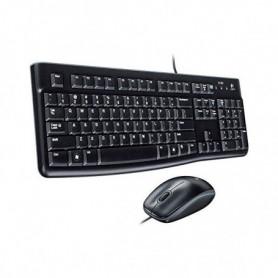 Clavier et Souris Optique Logitech 920-002550 1000 dpi USB Noir