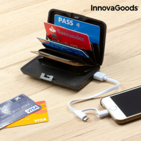 Porte-Cartes de Sécurité et Power Bank InnovaGoods
