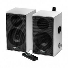 Haut-parleurs Traulux TS1050037 40W Blanc Noir
