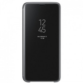 Samsung Clear View Cover Stand S9 - Noir