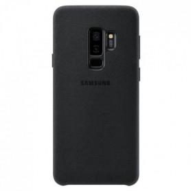 Samsung Coque en Alcantara S9+ Noir