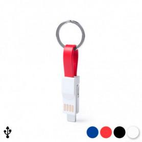 Porte-clé avec Câble Micro USB de Type C et Lightning 145969