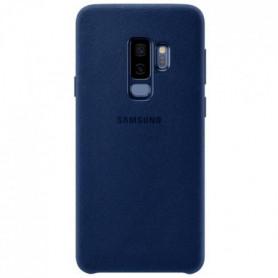Samsung Coque en Alcantara S9+ Bleu