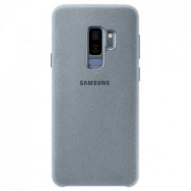 Samsung Coque en Alcantara S9+ Vert