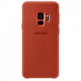 Samsung Coque en Alcantara S9 - Rouge