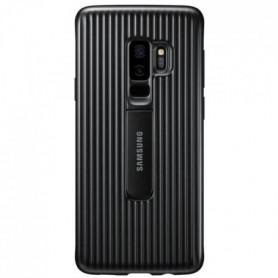 Samsung Coque Renforcée Stand S9+ Noir