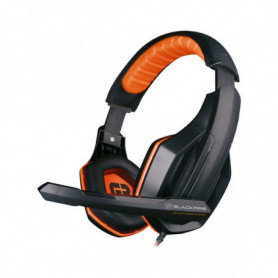 Casques avec Micro Gaming Ardistel BLACKFIRE BFX-10 PS4 Noir Orange