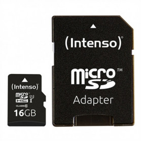 Carte Mémoire Micro SD avec Adaptateur INTENSO 34234 UHS-I Premium