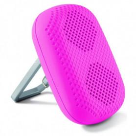 Haut-parleur portable cavec Mouqueton KSIX 1 5W Rose