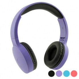 Casque Écouteurs Pliables avec Bluetooth KSIX Go & Play Travel
