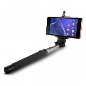 Perche à Selfie Extensible Bluetooth KSIX 45 mAh Noir
