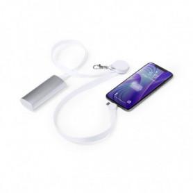 Cordon Chargeur avec USB-C, Micro USB et Ligthning Blanc 146145
