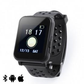 "Montre intelligente 1,44"" LCD Bluetooth Noir 146147"