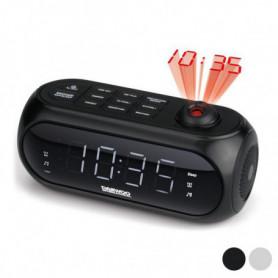 Radio réveil avec projecteur LCD Daewoo DCP-490 180º FM
