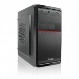Boîtier ATX mini-tour avec lecteur de carte TooQ TQC-4745DU3C-B Noir