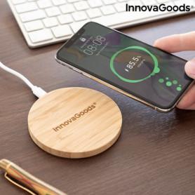 Chargeur sans Fil en Bambou InnovaGoods