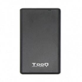 Boîtier pour disque dur TooQ TQE-2533B USB 3.1 Noir