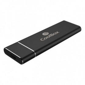 Boîtier pour disque dur CoolBox COO-MCM-SATA SSD SATA Noir