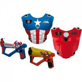 AVENGERS Mega laser set - 2 pistolets + 2 plastrons