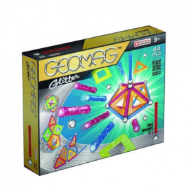GEOMAG GLITTER Jeu de Construction Magnétique 44pcs